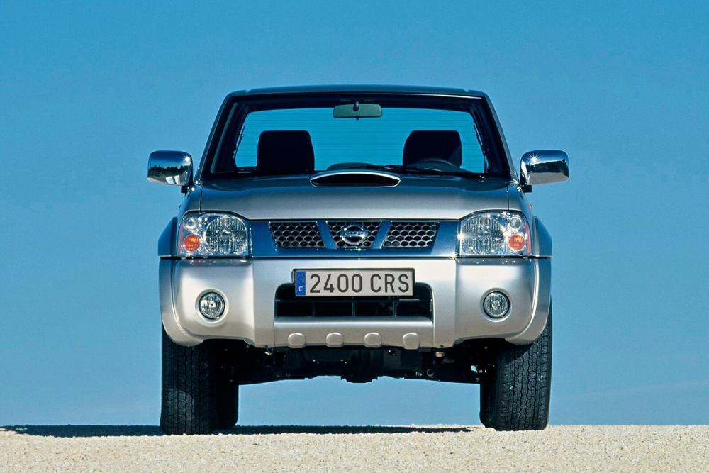 Nissan Navara D22 [рестайлинг] (2001-2005) Crew Cab пикап 4-дв.