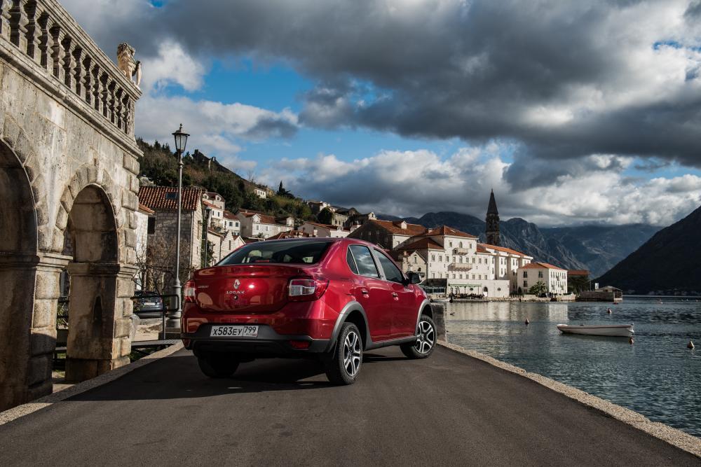 Renault Logan 2 поколение [рестайлинг] (2018) Stepway седан
