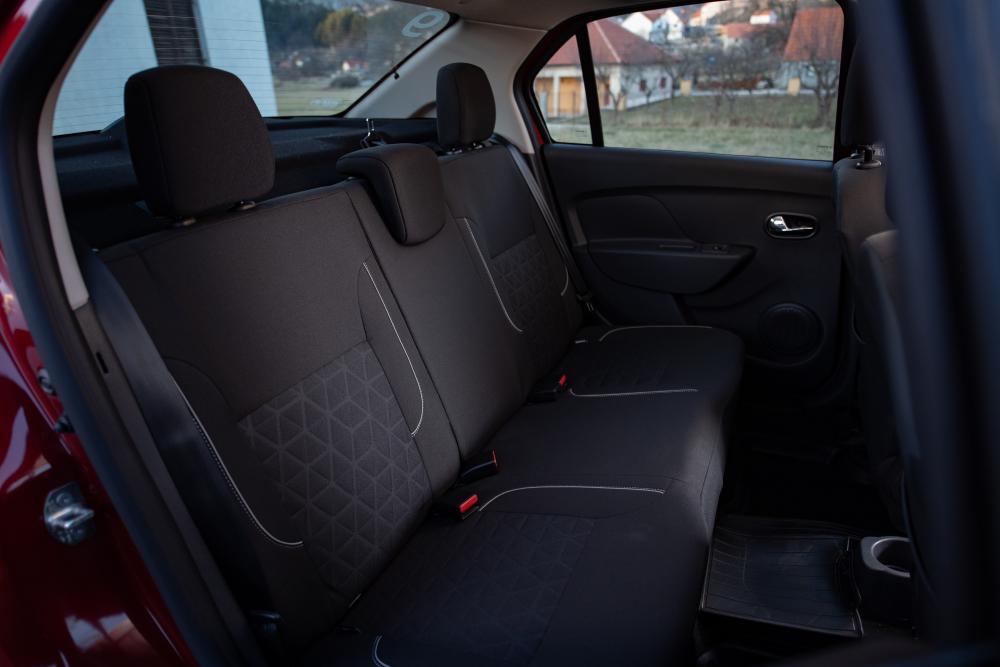 Renault Logan 2 поколение [рестайлинг] (2018) Stepway седан интерьер