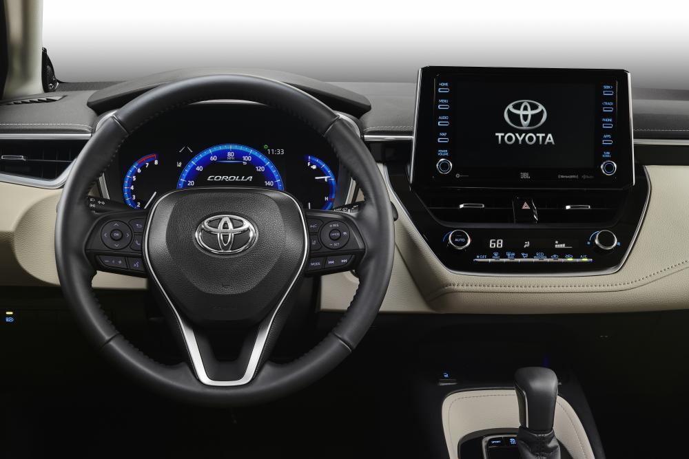 Toyota Corolla E210 (2019) Седан интерьер