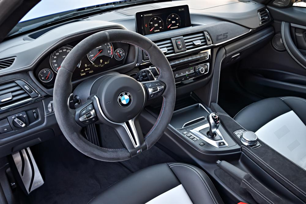 BMW M3 F80 [рестайлинг] (2018) Седан интерьер