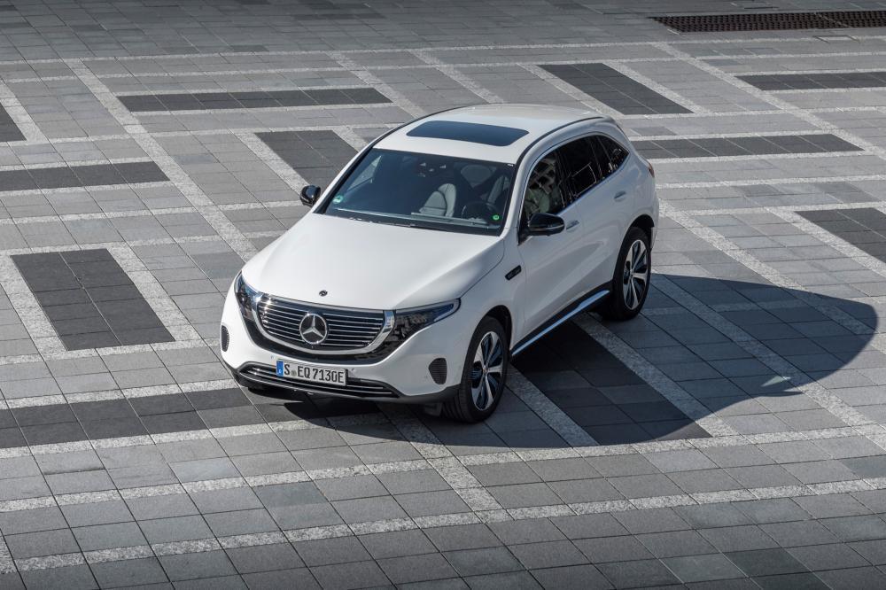 Mercedes-Benz EQC 1 поколение (2019) Кроссовер