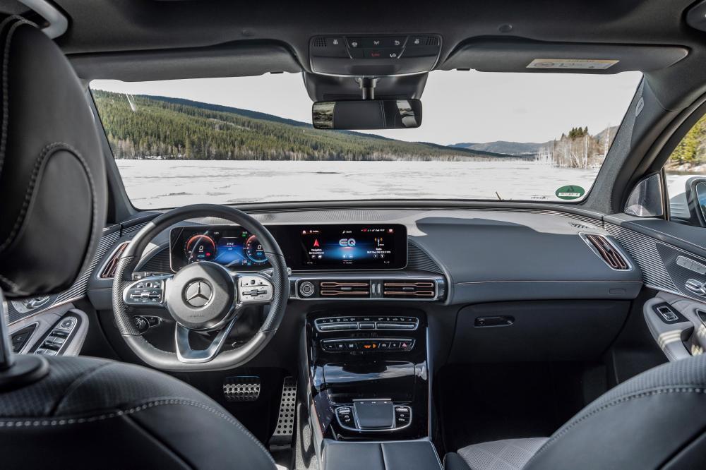 Mercedes-Benz EQC 1 поколение (2019) Кроссовер интерьер