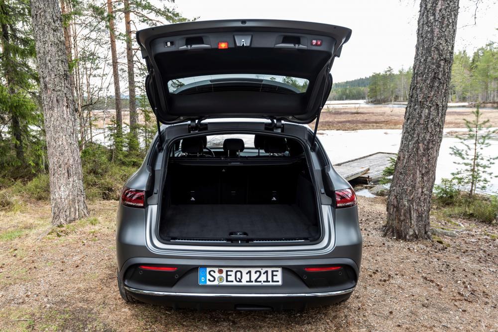 Mercedes-Benz EQC 1 поколение (2019) Кроссовер багажник