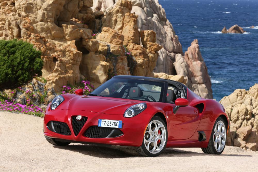 Alfa Romeo 4C 1 поколение Тарга Spyder