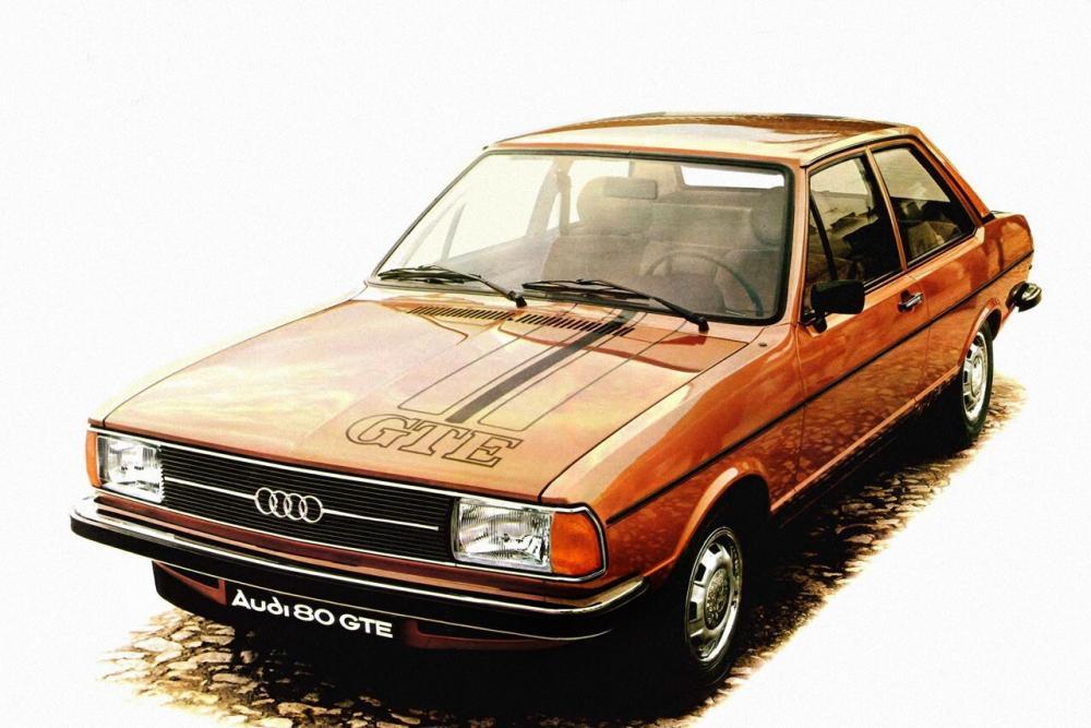 Audi 80 B1 [рестайлинг] (1976-1978) GTE седан 2-дв.