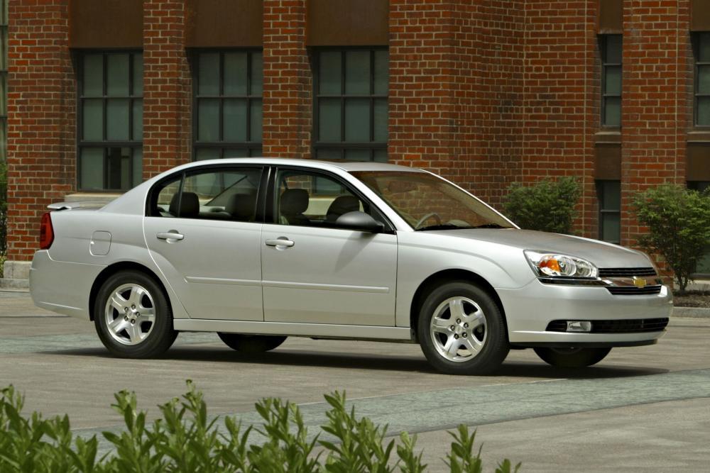 Chevrolet Malibu 3 поколение Седан