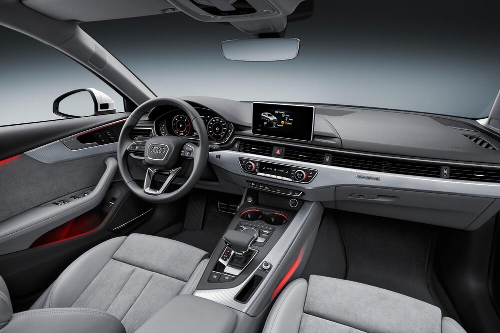 Audi A4 allroad 5 поколение B9 (2016-2019) Универсал 5 дв. интерьер