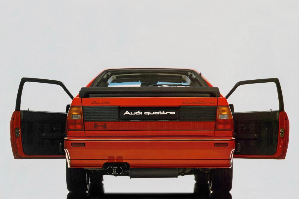 Audi Quattro 1 поколение Typ 85 [рестайлинг] (1985-1991) Купе