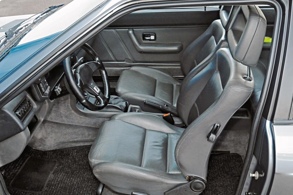 Audi Quattro 1 поколение Typ 85 [рестайлинг] (1985-1991) Купе интерьер