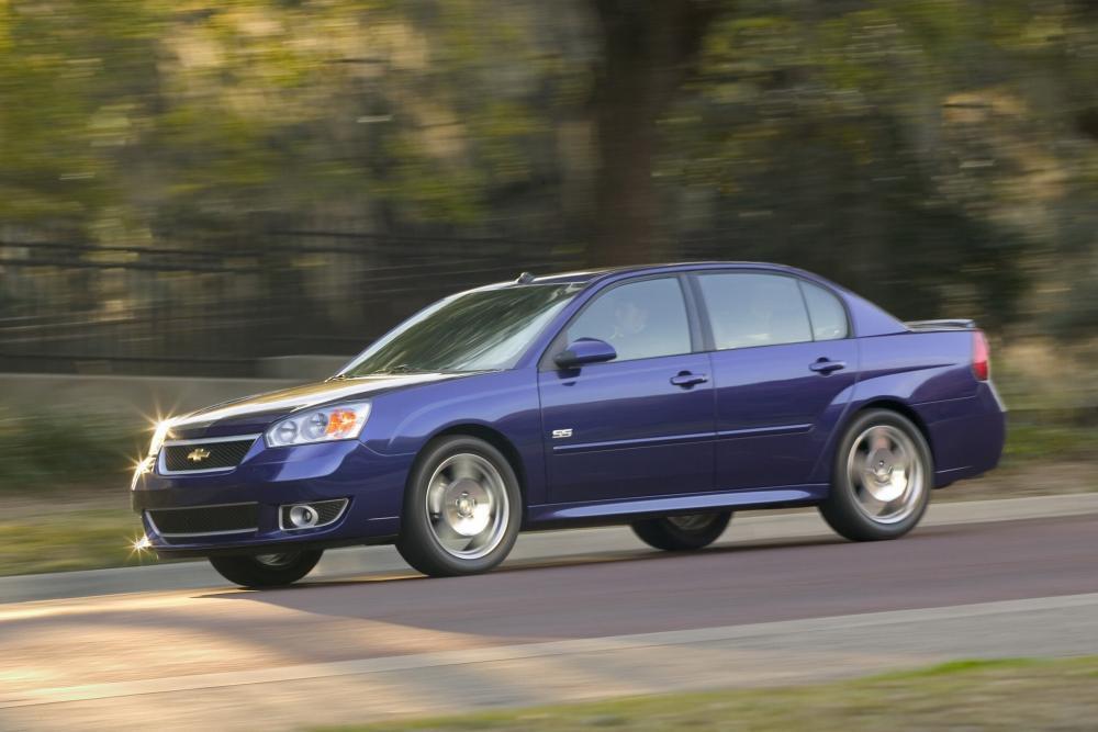 Chevrolet Malibu 3 поколение рестайлинг SS седан 4-дв.