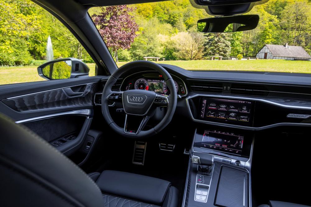 Audi S6 C8 Седан (2019) интерьер