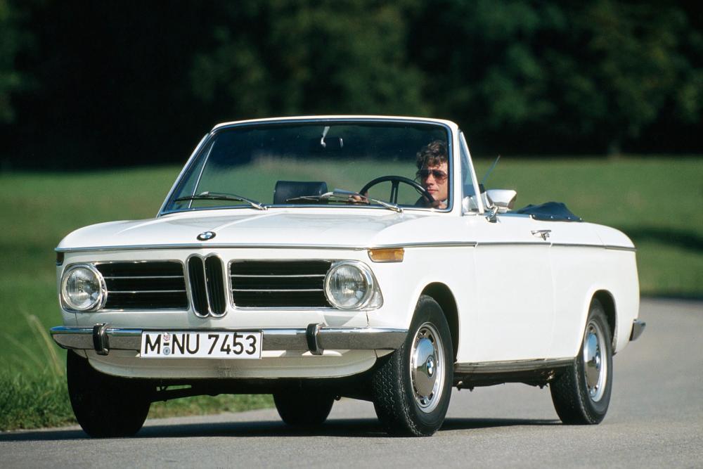 BMW 02 (E10) 1 поколение (1967-1975) Кабриолет