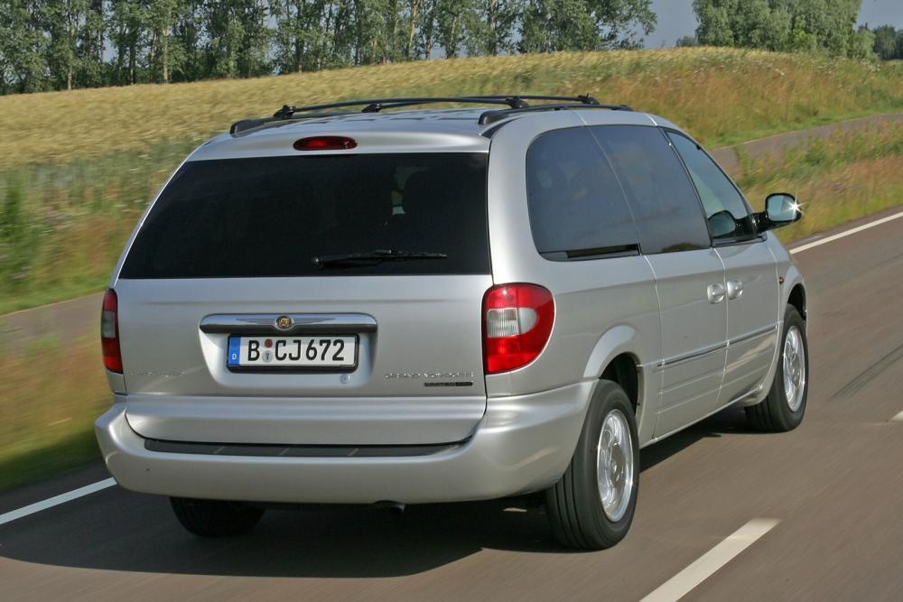 Chrysler Voyager 4 поколение рестайлинг (2004-2007) Минивэн Grand
