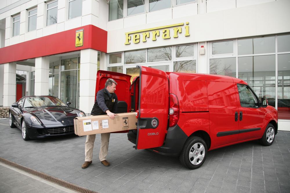 Fiat Doblo 2 поколение Cargo фургон