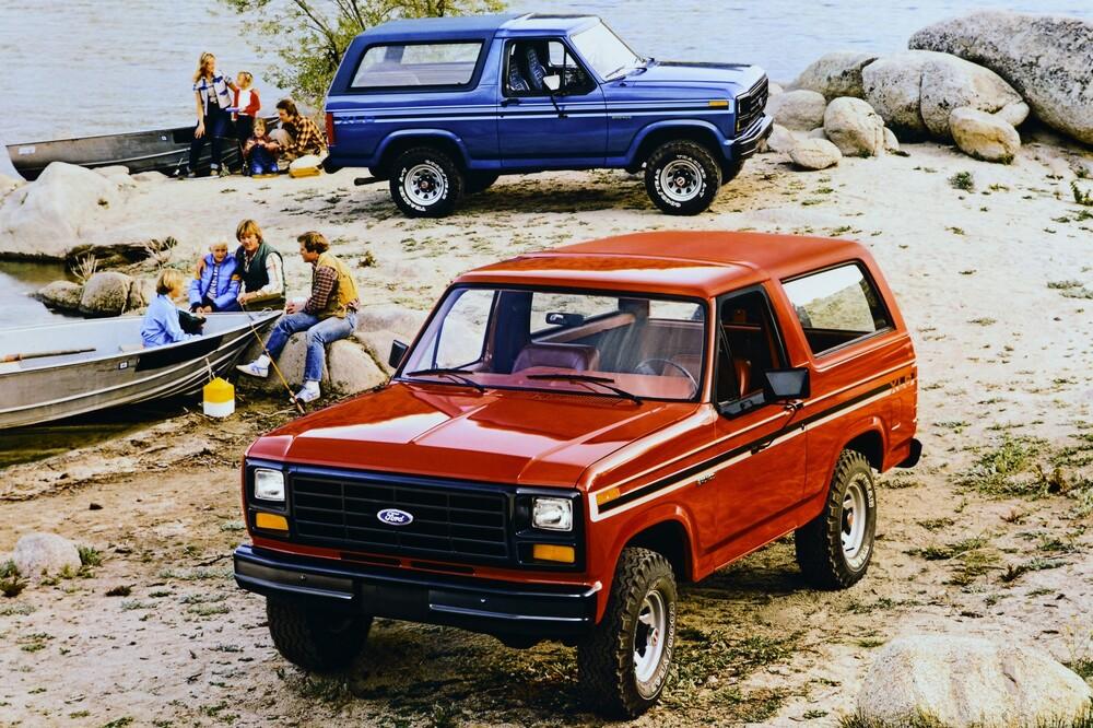 Ford Bronco 3 поколение (1980-1986) Внедорожник 3-дв.