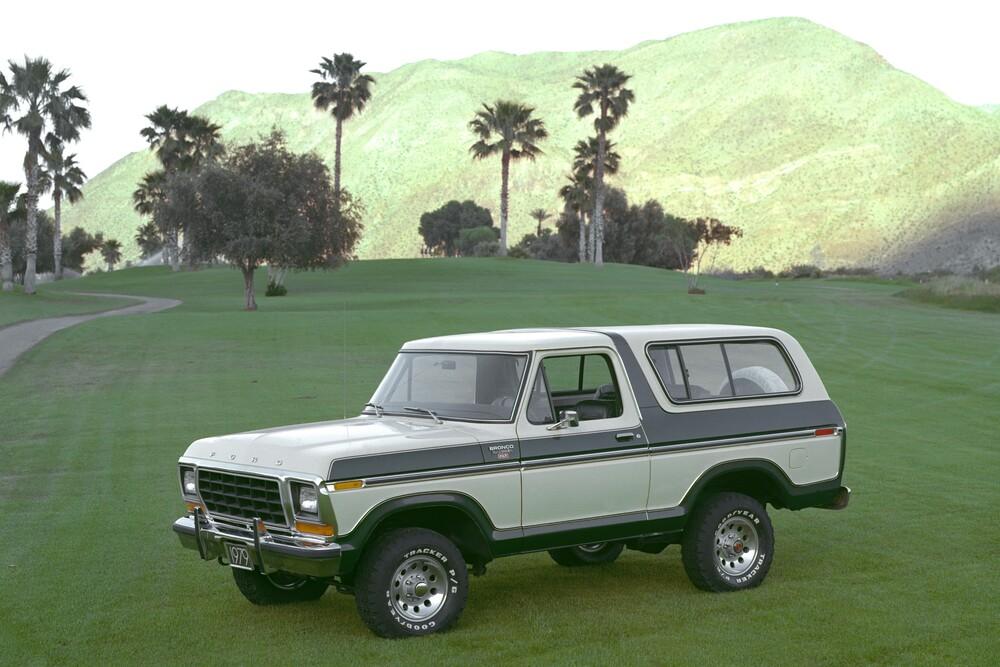 Ford Bronco 2 поколение (1978-1979) Внедорожник 3-дв.